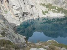 GR20 Nord, le lac de Capitellu