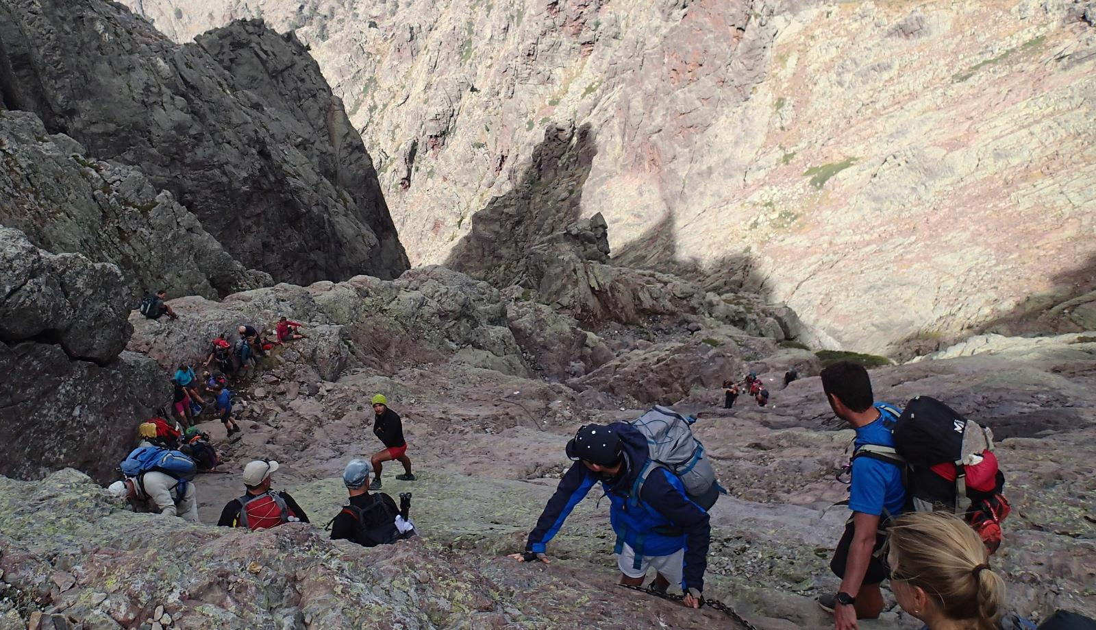 Etape 11 du GR20, du refuge de Tighjettu à Ascu en passant par le Cirque de la Solitude