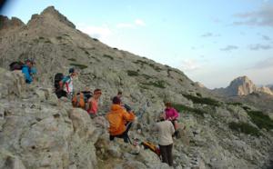 Etape 8 du GR20, du refuge de Petra Piana aux bergeries de Vaccaghja